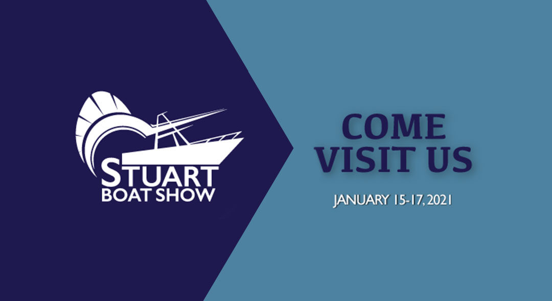 See you (sort of) at the Stuart Boat Show!