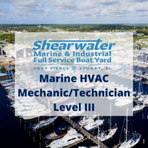 Shearwater Marine HVAC Mechanic/Technician Level III