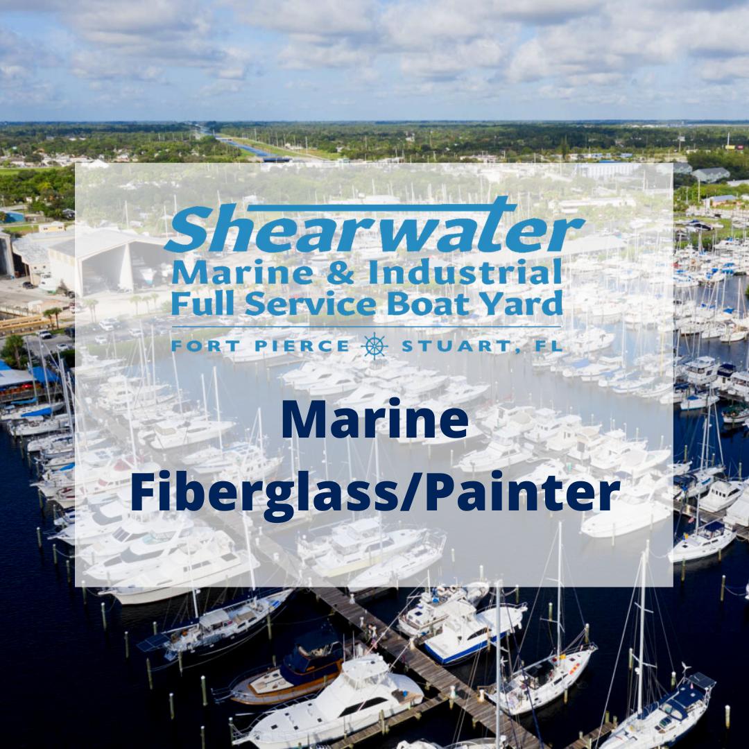 Shearwater Marine Fiberglass/Painter